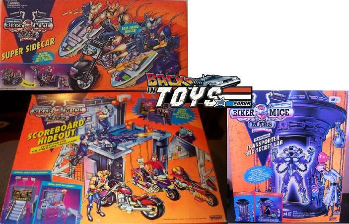 BIKER MICE FROM MARS (Galoob) 1993 Others